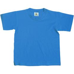 Kleidung Kinder T-Shirts B And C TK300 Helltürkis