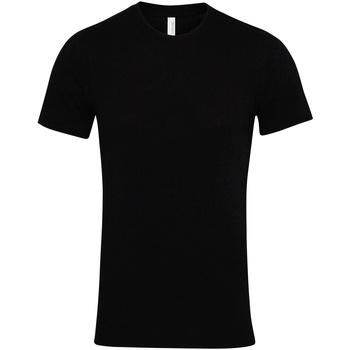 Kleidung T-Shirts Bella + Canvas CV001 Schwarz