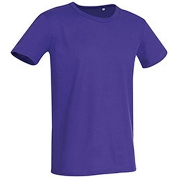 Kleidung Herren T-Shirts Stedman Stars Stars Tiefes Lila