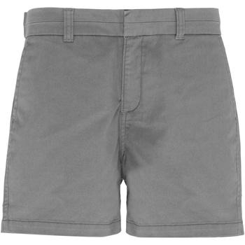 Kleidung Damen Shorts / Bermudas Asquith & Fox AQ061 Schiefer