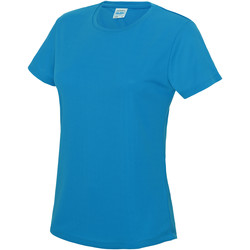 Kleidung Damen T-Shirts Awdis JC005 Saphirblau