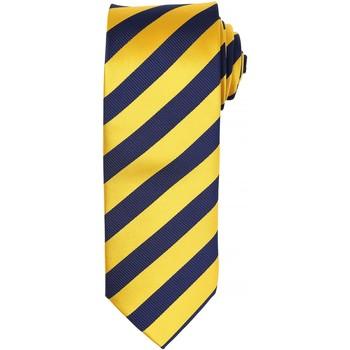 Kleidung Herren Krawatte und Accessoires Premier PR786 Gold / Marineblau