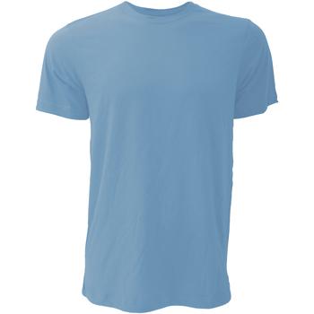 Kleidung Herren T-Shirts Bella + Canvas CA3001 Columbia Blau meliert