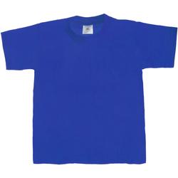 Kleidung Kinder T-Shirts B And C Exact 190 Königsblau