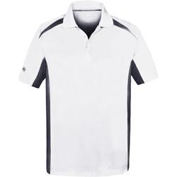 Kleidung Herren Polohemden Stormtech ST955 Weiß/Marineblau
