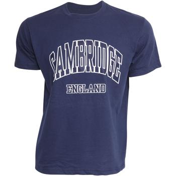 Kleidung Herren T-Shirts Cambridge University  Marineblau