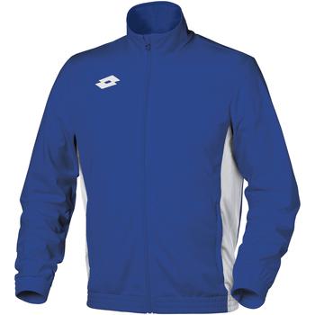 Kleidung Kinder Trainingsjacken Lotto Delta Königsblau/Weiß