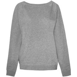 Kleidung Damen Sweatshirts Skinni Fit SK513 Hellgrau