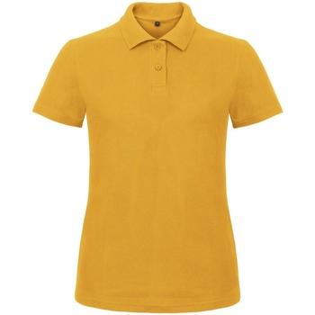 Kleidung Damen Polohemden B And C ID.001 Goldgelb