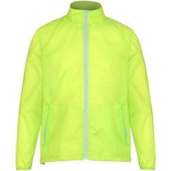 Kleidung Herren Windjacken 2786  Gelb/Weiß