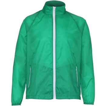 Kleidung Herren Windjacken 2786  Kelly/Weiß