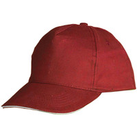Accessoires Schirmmütze Sols Sunny Rot/Weiß