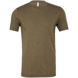 Kleidung Herren T-Shirts Bella + Canvas CA3413 Olive Triblend