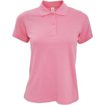 Kleidung Damen Polohemden B And C PW455 Pixel Pink