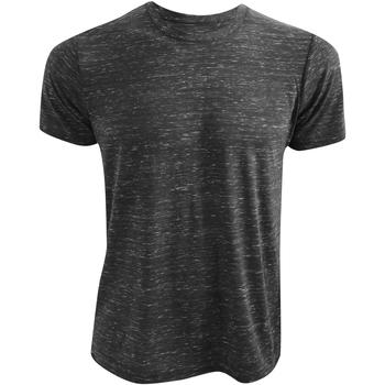 Kleidung T-Shirts Bella + Canvas CA3650 Anthrazit meliert