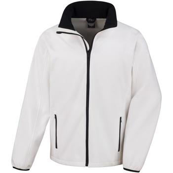 Kleidung Herren Jacken Result R231M Weiß/Schwarz