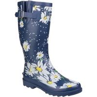Schuhe Damen Gummistiefel Cotswold Burghley Gänseblümchen