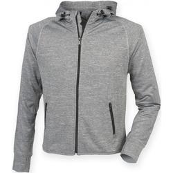 Kleidung Herren Sweatshirts Tombo Teamsport TL550 Grau meliert
