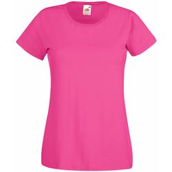 Kleidung Damen T-Shirts Universal Textiles 61372 Dunkles Pink