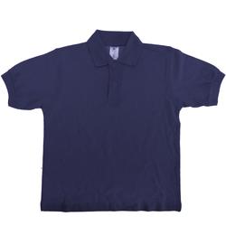 Kleidung Kinder Polohemden B And C PK486 Marineblau
