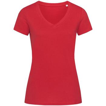 Kleidung Damen T-Shirts Stedman Stars Janet Paprikarot