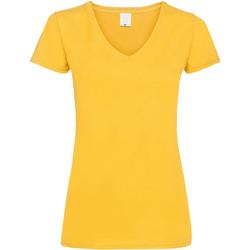 Kleidung Damen T-Shirts Universal Textiles Value Gold