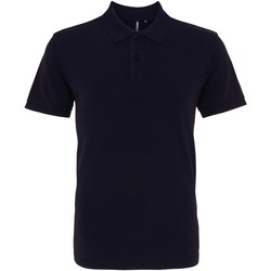 Kleidung Herren Polohemden Asquith & Fox AQ010 Marineblau Washed