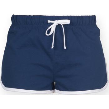 Kleidung Damen Shorts / Bermudas Skinni Fit SK069 Marineblau/Weiß