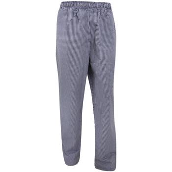 Kleidung Fließende Hosen/ Haremshosen Dennys DC01E Marineblau/Weiß