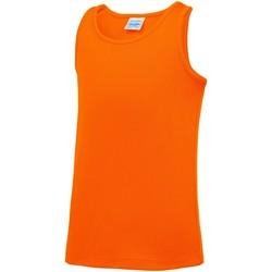 Kleidung Kinder Tops Awdis JC07J Elektrik Orange