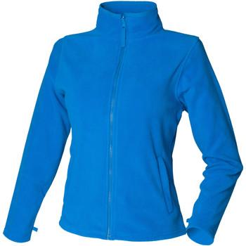 Kleidung Damen Fleecepullover Henbury HB851 Vivid Blau