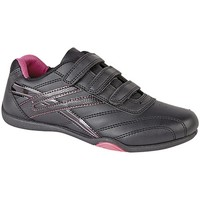 Schuhe Damen Sneaker Low Dek Raven Schwarz/Fuchsia