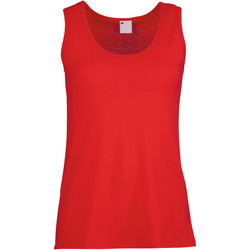 Kleidung Damen Tops Universal Textiles Fitted Rot