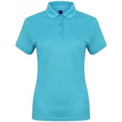 Kleidung Damen Polohemden Henbury HB461 Türkis
