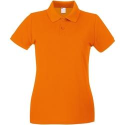 Kleidung Damen Polohemden Universal Textiles 63030 Kräftiges Orange