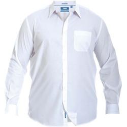Kleidung Herren Langärmelige Hemden Duke  Weiß