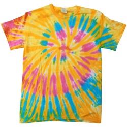 Kleidung Damen T-Shirts Colortone Rainbow Aurora