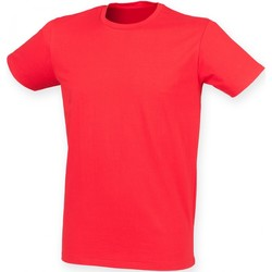 Kleidung Herren T-Shirts Skinni Fit SF121 Hellrot