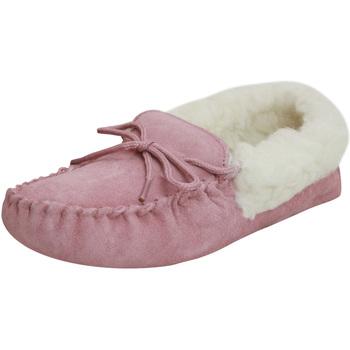 Schuhe Damen Hausschuhe Eastern Counties Leather  Rosa