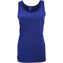 Kleidung Damen Tops Bella + Canvas CA3480 Marineblau meliert