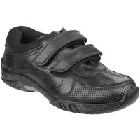 Schuhe Jungen Sneaker Low Hush puppies Jezza Schwarz
