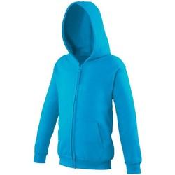 Kleidung Kinder Sweatshirts Awdis JH50J Hawaii Blau