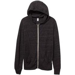 Kleidung Herren Sweatshirts Alternative Apparel AT002 Eco Schwarz