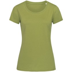 Kleidung Damen T-Shirts Stedman Stars  Olivgrün