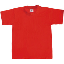Kleidung Kinder T-Shirts B And C TK301 Rot