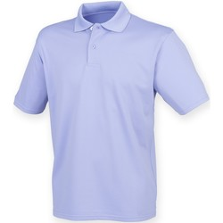 Kleidung Herren Polohemden Henbury HB475 Lavendel