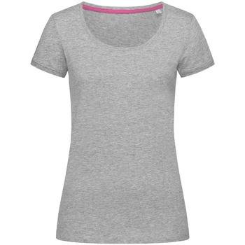 Kleidung Damen T-Shirts Stedman Stars  Grau meliert