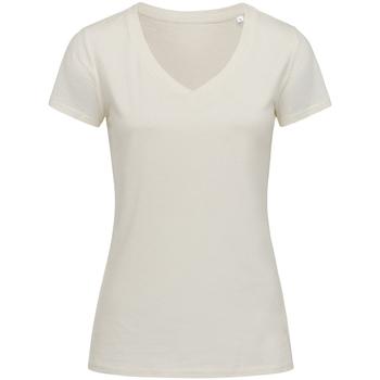 Kleidung Damen T-Shirts Stedman Stars Janet Winterweiß