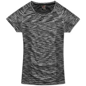 Kleidung Damen T-Shirts Stedman Seamless Schwarz