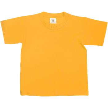 Kleidung Kinder T-Shirts B And C TK300 Gold